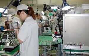 テクニカル生産業務の様子
