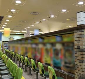 LEDダウンライトLDM-100シリーズ導入例遊技施設
