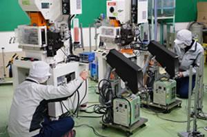 青森工場生産技術スタッフ作業